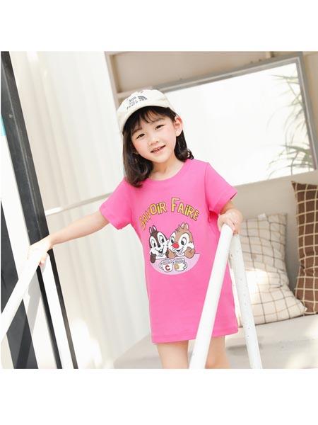 Chocolate Smile童装品牌2020春夏新款韩国童装韩版亲子装家庭装