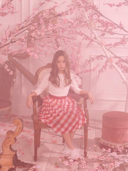 Monnalisa童装品牌2020春夏长袖纯棉