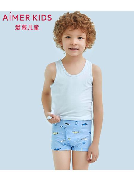 爱慕童装品牌2020春夏儿童内裤男童平角内裤宝宝内裤男孩平角裤