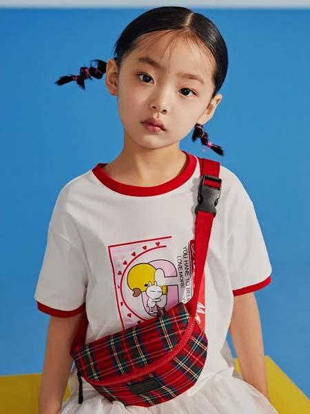 gxg.kids童装品牌2020春夏红边T恤