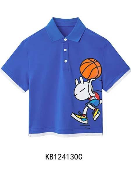 gxg.kids童装品牌2020春夏蓝色T恤
