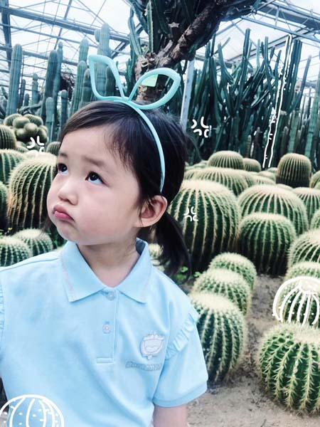 贝甜童装品牌2020春夏浅蓝色T恤