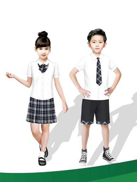 希望之星童装品牌2020春夏夏季制服校服套装