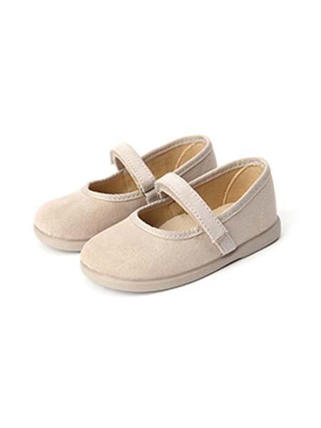 DONSJE童鞋品牌春夏白色纯色皮鞋