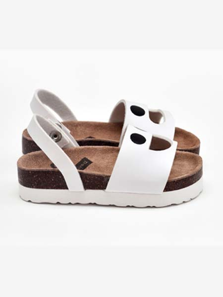DONSJE童鞋品牌春夏白色休�e�鲂�