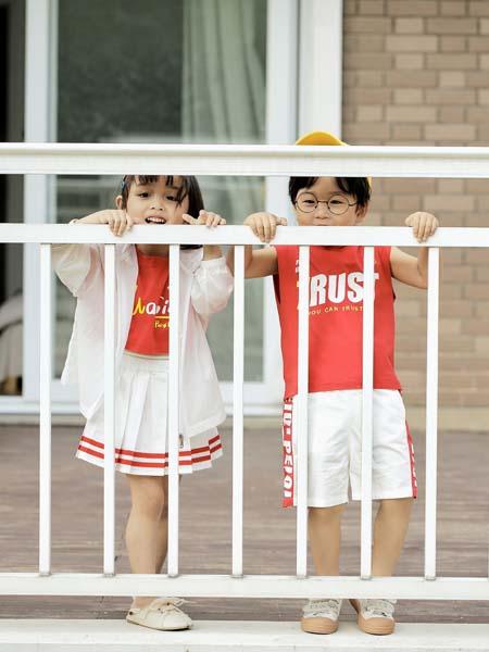 PEIQI KIDS童装品牌2020春夏白色薄款外套白色短裙