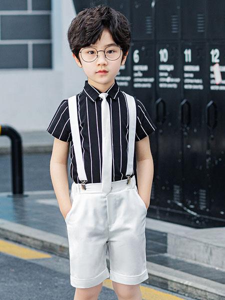 衣网达童装品牌2020春夏新款小孩子朋友王子西服 男儿童小西装童装表演舞台礼服