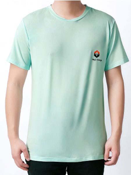 暖康小黑桔童装品牌2020春夏绿色T恤