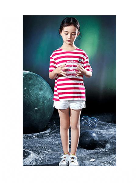Pandas Friend童装品牌2020春夏女童纯棉轻肤休闲套装