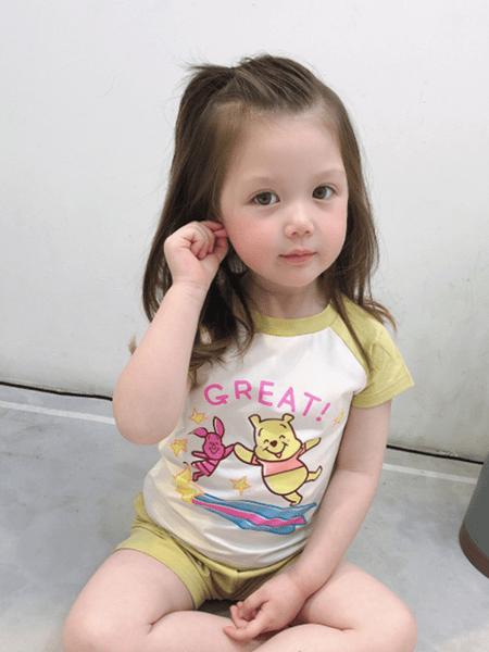 爱飞乐童装品牌2020春夏童装新款儿童短袖短裤套装t恤冰爽棉男女宝宝