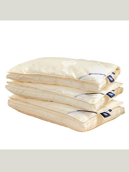 梦洁宝贝蚕丝枕头护颈椎儿童柔软助睡眠纤柔分层枕芯四季可用