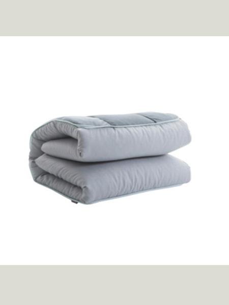 梦洁宝贝易折叠单人床垫纯色学生床宿舍寝室软床垫0.9m床地铺褥子