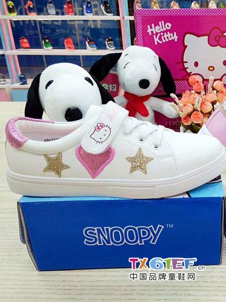 史努比/凯蒂猫/小叮当/迪士尼童鞋品牌爱心小白鞋