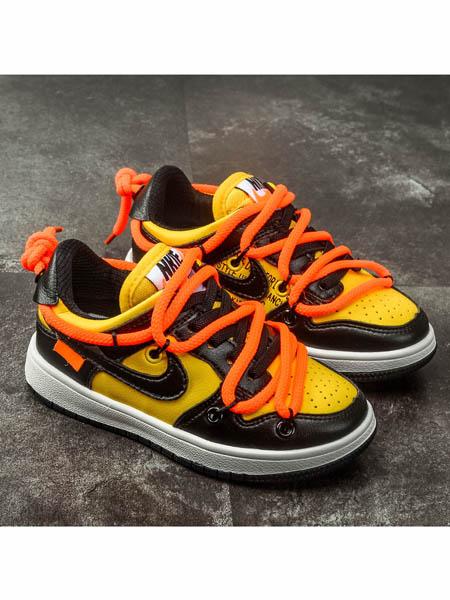 伢一巴童鞋品牌2020春夏儿童时尚潮鞋新款男童休闲运动鞋女童板鞋防滑网鞋