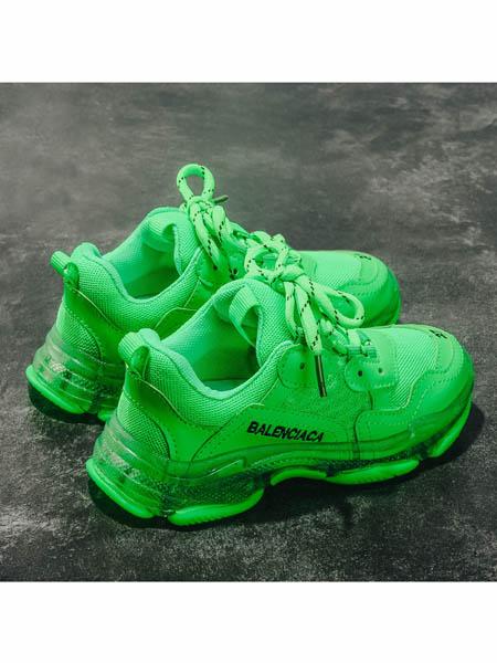 伢一巴童鞋品牌2020春夏男童运动鞋糖果鞋新款儿童网红童鞋透气女童老爹鞋