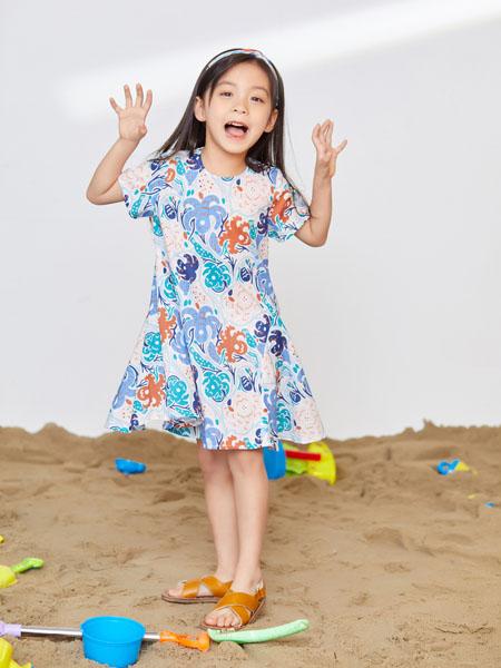 宝贝传奇童装品牌2020春夏连衣裙