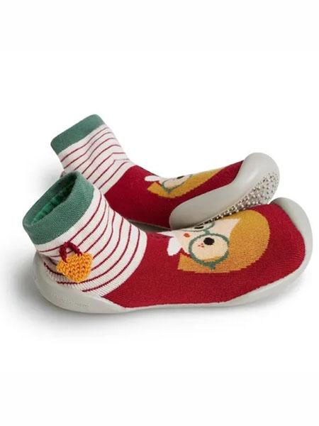 collegien童鞋品牌2020春夏宝宝室内鞋小童袜子鞋学步鞋地板鞋亲子鞋