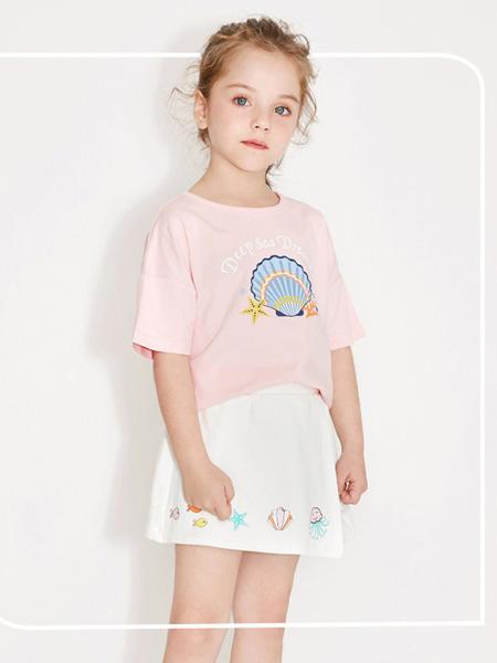 托馬斯和朋友,凯蒂猫,Eyookids惠代织童装品牌2020春夏粉色圆领T恤