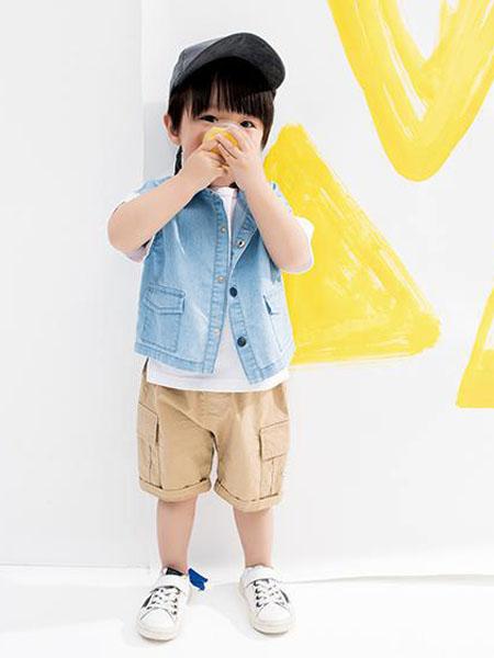 小瞳象童装品牌2020春夏牛仔外套短