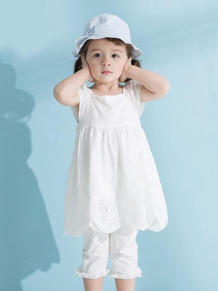 可优比婴童用品2020春夏纯棉宝宝轻肤连衣裙
