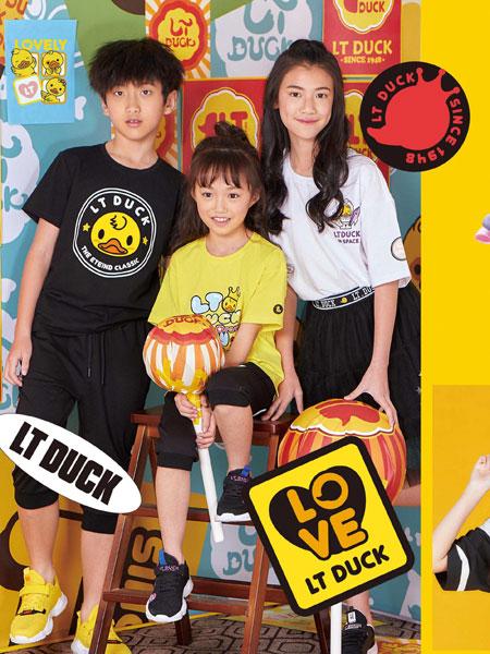 小黄鸭青少年鞋服童装品牌2020春夏纯棉运动系列