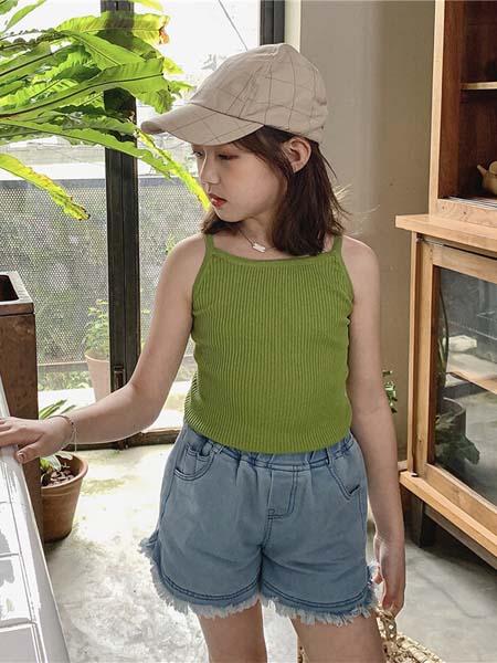 Tao cat Kids童装品牌2020春夏短袖T恤新款夏装儿童女孩洋气夏季上衣宽松半袖T恤