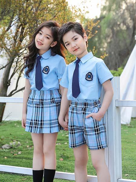 曼尔菲菲校服园服2020春夏时尚制服校服两件套