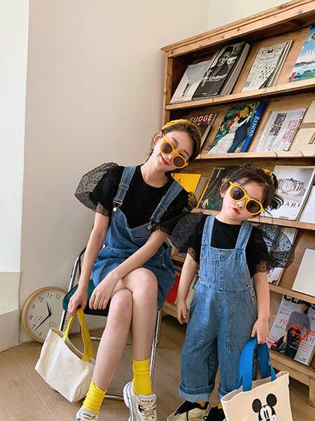 一起玩童装品牌2020春夏韩版时尚母女装
