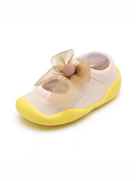 米派星童鞋品牌2020春夏儿童学步鞋防滑宝宝地板鞋软底女童早教鞋男童婴儿袜鞋