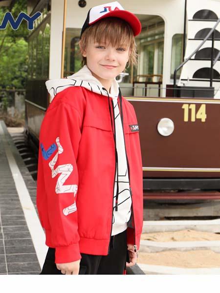 JINY童装品牌2020春夏新款男童风衣潮运动童外套
