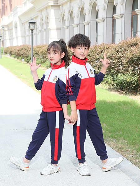 唐园坊童装品牌2020春夏休闲园服棒球服外套套装