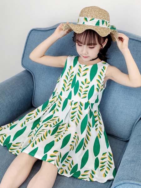 J5J6童装品牌2020春夏女童裙子新款小女孩洋气公主裙夏季中大童儿童背带连衣裙
