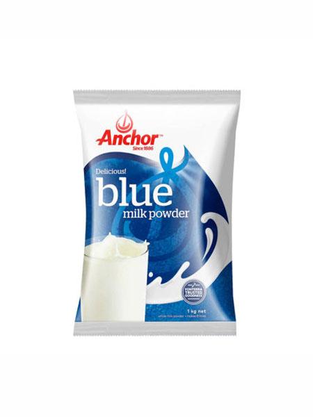 Anchor婴儿食品进口奶粉奶粉成年成人青少年1kg脱脂奶粉牛奶粉