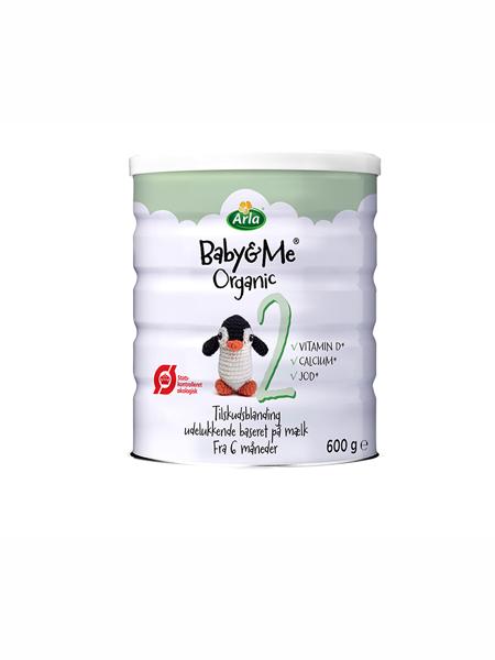ARLA婴儿食品奶粉幼儿有机奶粉单罐600g