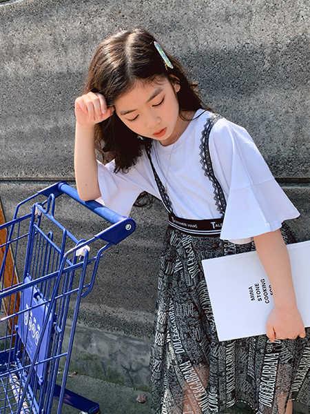 IXIT童装品牌2020春夏纯棉宽松圆领T恤