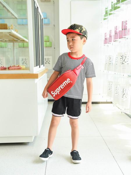 首系童装品牌2020春夏纯棉圆领短袖