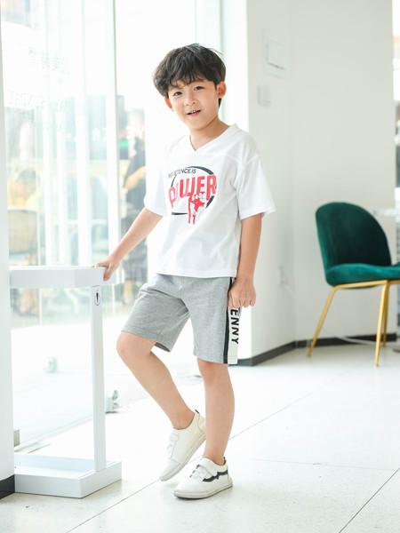 首系童装品牌2020春夏休闲运动两件套套装