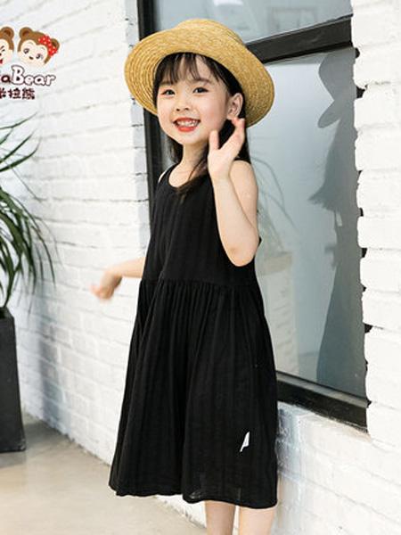 米拉熊童装品牌2020春夏沙滩裙夏季新款薄夏装洋气女孩公主连衣裙子女宝宝