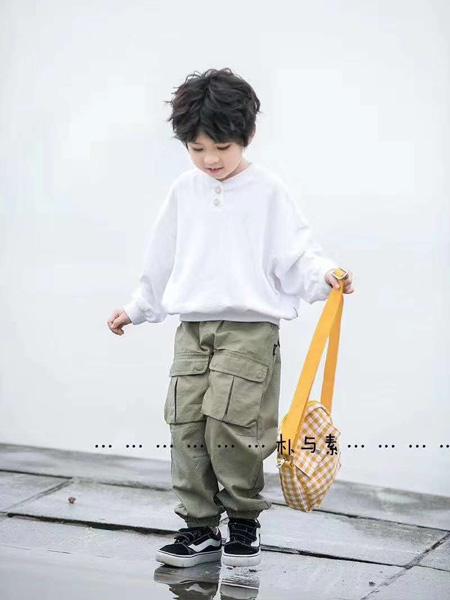 永福熊童装品牌2020春夏圆领白色T恤