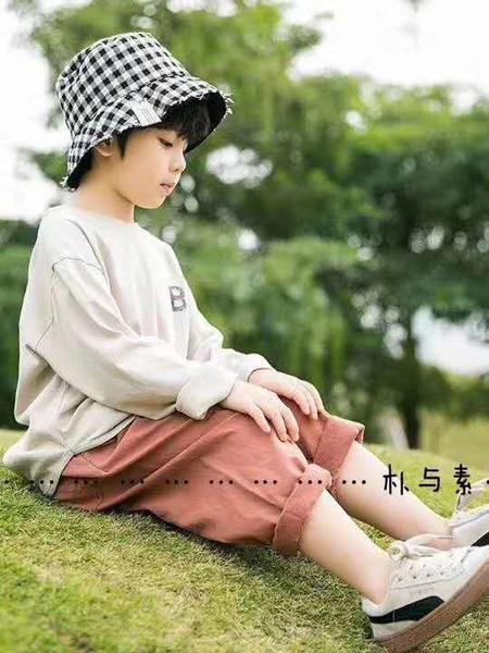 永福熊童装品牌2020春夏白色字母T恤