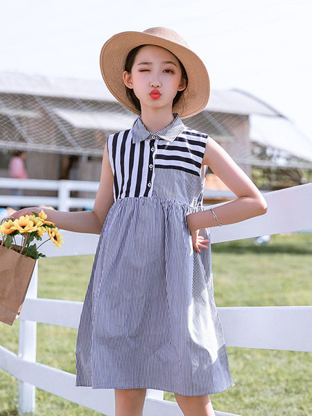 Fred&Ginger童装品牌2020春夏女童可爱甜美连衣裙