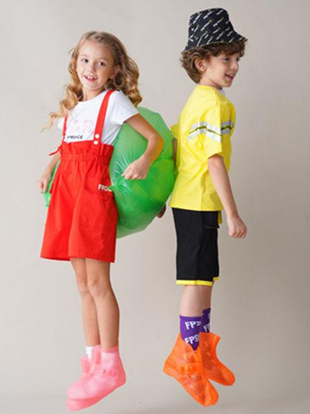青蛙王子童装品牌2020春夏红色背带裤