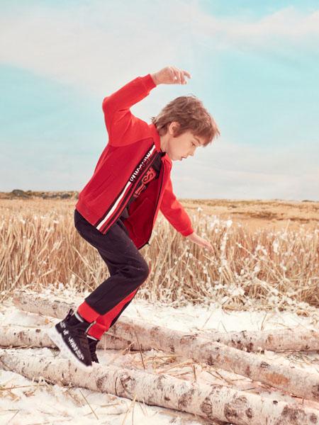 蒙蒙摩米 Mes amis童装品牌2020春大红色外套