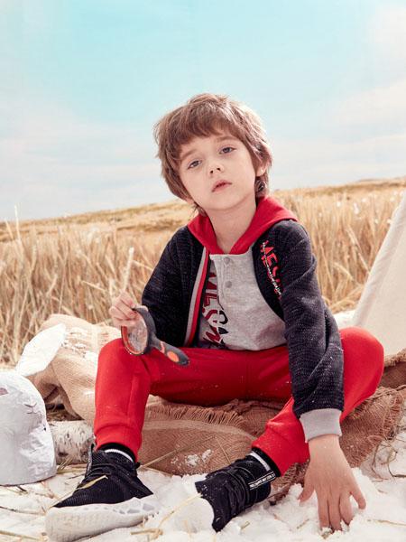 蒙蒙摩米 Mes amis童装品牌2020春黑色外套