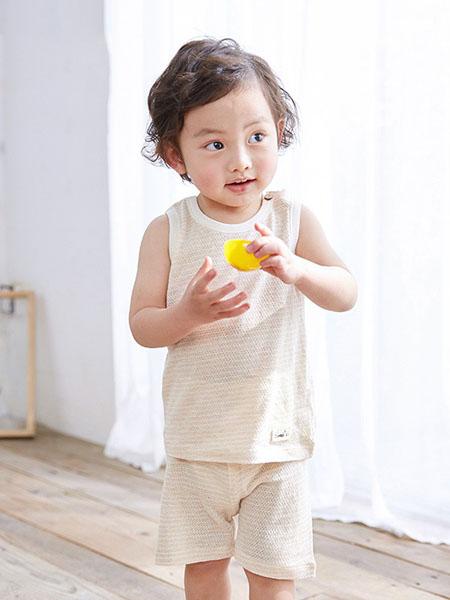 阮棉棉童装品牌2020春夏色无袖背心短袖