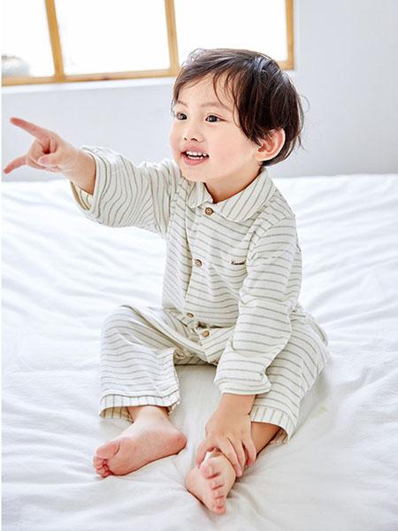 阮棉棉童装品牌2020春夏纯棉格子家居服