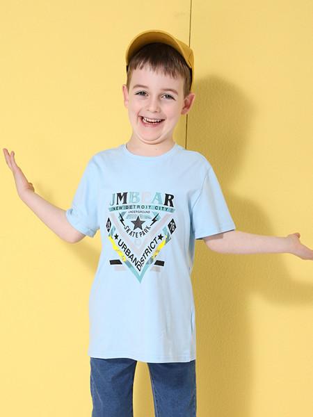 杰米熊童装品牌2020春夏新款儿童洋气短袖t恤大童韩版潮衣