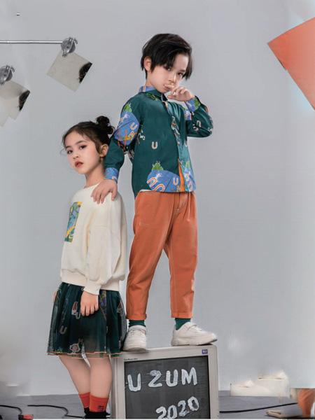 优仔优妹童装品牌2020秋冬青色衬衫长袖
