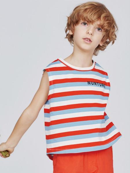 歌拉齐亚baby Graziella童装品牌2020夏纯棉男童条纹背心