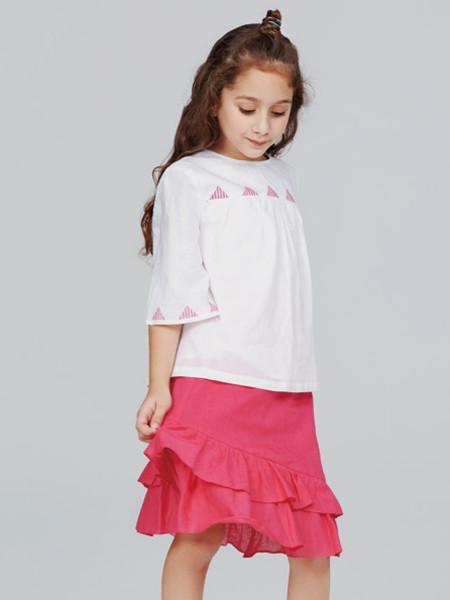 歌拉齐亚baby Graziella童装品牌2020夏纯棉百搭女童T恤